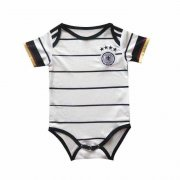 2020 Germany Home White Baby Infant Crawl Soccer Jersey Shirt