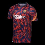 2020/2021 Barcelona Soccer Training Jersey Red - Mens