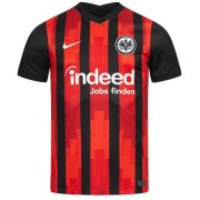 2020/2021 Eintracht Frankfurt Home Red & Black Soccer Jersey Men's