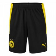 2020/2021 Borussia Dortmund Home Black Men Soccer Shorts