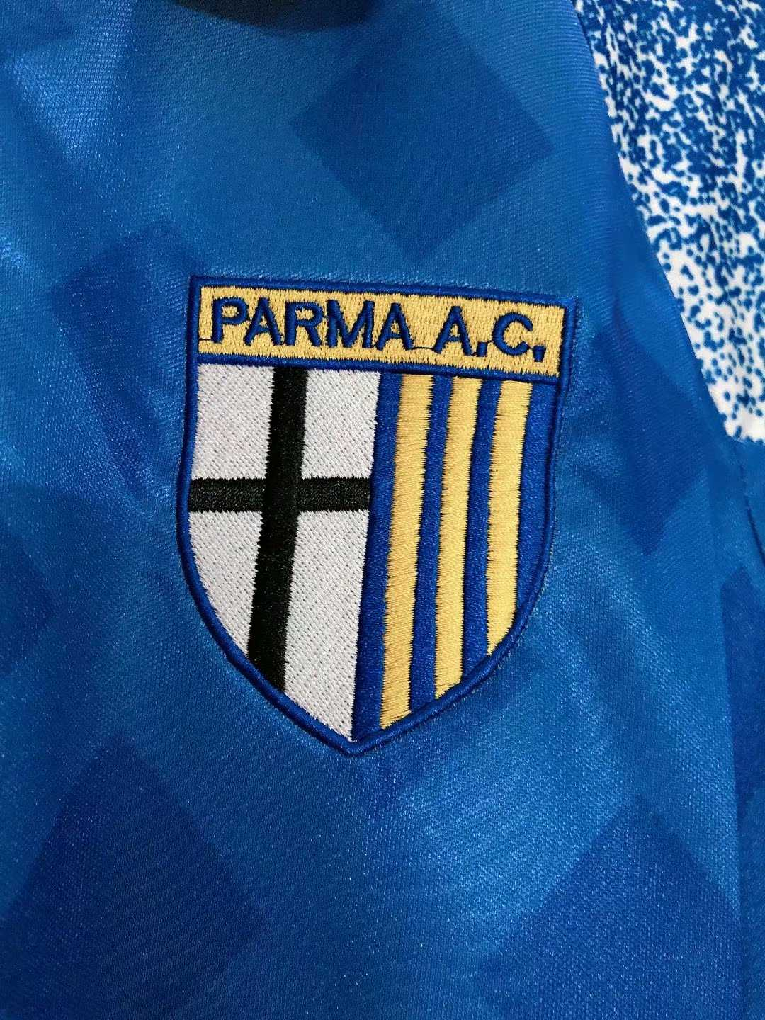 1995-1997 Parma Calcio Retro Away Soccer Jersey Men's