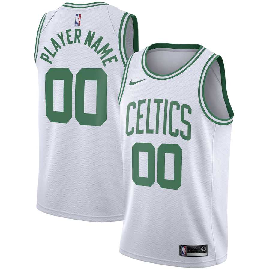 Boston Celtics White Swingman - Icon Edition Mens Jersey