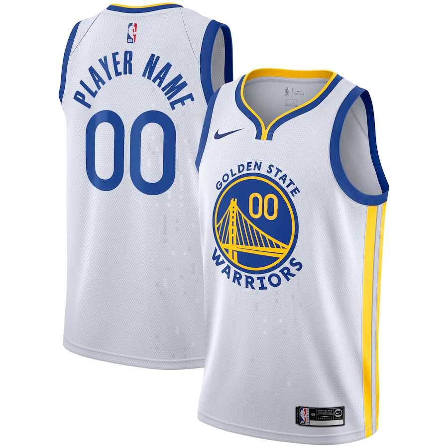 Golden State Warriors White Swingman - Association Edition Mens Jersey