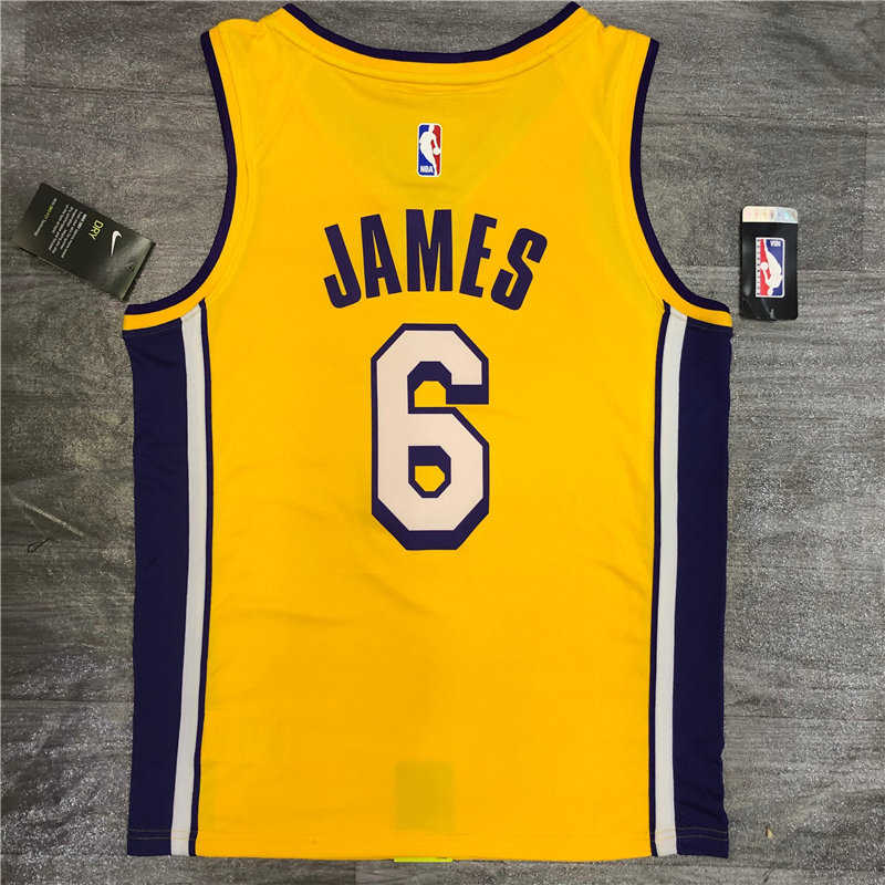 Los Angeles Lakers Gold Swingman - Icon Edition Jersey