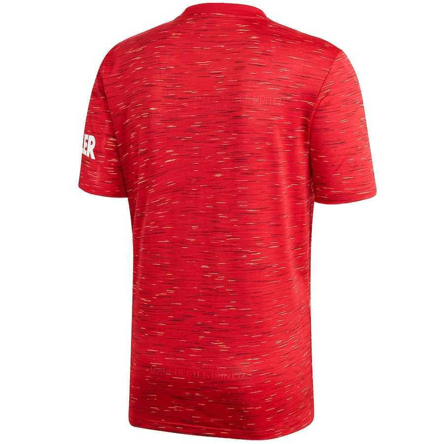 2020/2021 Manchester United Home Red Soccer Jersey Men's